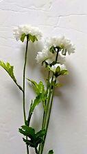 Button mum stems. Silk flower floral arrangements