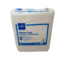 Adult Bladder Control Pads Maximum Absorbency Individual Wrapped 14ct Medline