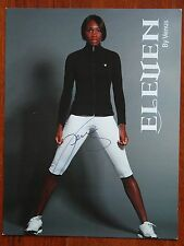 Rare VENUS WILLIAMS TENNIS Eleven Signed 8.5X10 Photo