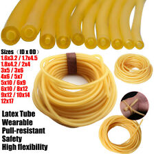 Natural Latex Rubber Surgical Tube Band Elastic For Slingshot Catapult 1712mm
