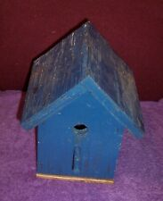 Vintage Farmhouse Old Birdhouse Heavy Made
