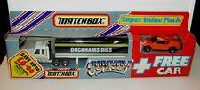 MATCHBOX CONVOY Duckham SCANIA Boîte Camion Super Value Pack avec gratuit voiture En parfait état, dans sa boîte RARE