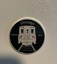 Chicago Fernet Branca L Train Coin 2014