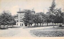 Ann Arbor Michigan 1908 Postcard New Mechanical Building University of Michigan
