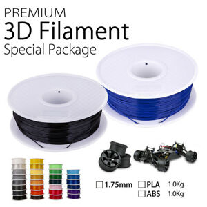 3D Printer Printing Filament PLA ABS 1.75mm 1KG Engineer Drawing Art AU