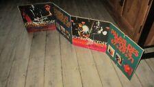 Johnny-Rare PLV-Promo-Concerts 1962 a 1971-Grand format(1,40 M)-Années 70