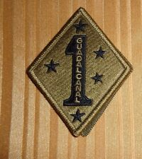 ARMY PATCH, 1ST MARINE DIVISION  ,MULTI-CAM,SCORPION, WITH HOOK LOOP FASTENER
