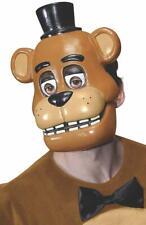 Five Nights at Freddy's Freddy Costume Half Mask Adult