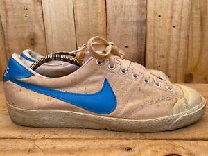 Rare Vintage Nike All Court Tennis Shoes Mens 1978 Size 11
