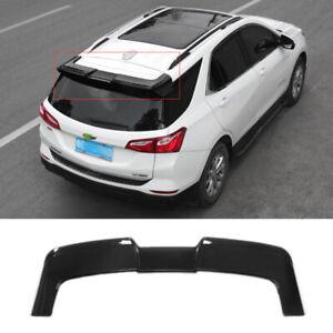 For Chevrolet Equinox 2018-2021 Gloss Black Rear Trunk Spoiler Wing Flap 1PCS