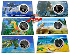 Love Wish Pearl Kit Chain Necklace Kit Pendant Great Gift Box Sea Life Mermaid