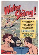 1961 Water Skiing Giveaway Comic Book - Evinrude Motors - Tom + Janie Dorwin