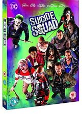 Suicide Squad DVD 2016 Will Smith Margot Robbie Region 2