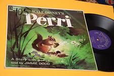 PERRI LP WALT DISNEY ORIG USA 1968 NM CARTONATO ! TOP