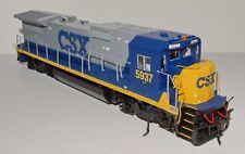 Excellent ATLAS Master dual mode DC/DCC Dash 8-40B Diesel locomotive, CSX #5937