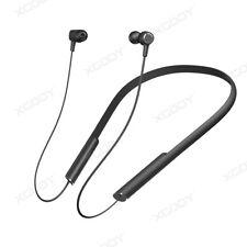 Black Waterproof Wireless Bluetooth HIFI Headsets Sports Headphone For Apple LG