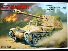 MARDER I TANK DESTROYER, NORMANDY 1944, 35054, 1:35, RPM