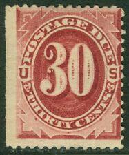 EDW1949SELL : USA 1891 Scott #J27 Mint OG HR Nice color. PSAG Cert. Catalog $575