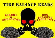 224 Oz Bulk Tire Balancing Beads Balancing Ballast Brannock 224 Ounces