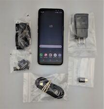 Samsung Galaxy S8 SM-G950U 64GB Black Verizon Android Smartphone Good Shape