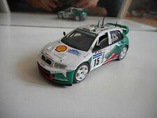 Solido Skoda Fabie WRC in White on 1:43