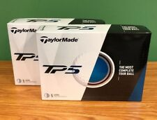 New listing Brand New TaylorMade TP5 Golf Balls New in Box 2 dozen Free SHIPPING