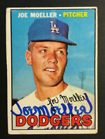 Joe Moeller Dodgers signed 1967 Topps baseball card #149 Auto Autograph
