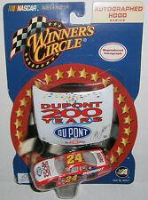Jeff Gordon NASCAR Winners Circle 2002 DuPont 200 Years Hood 1:64 Diecast Car