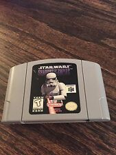 Star Wars: Shadows of the Empire Nintendo 64 N64 Game Cart Works L@@K NE5