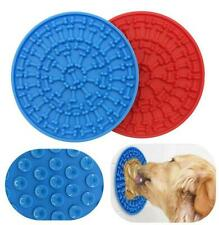 2 pcs dog lick pad for bathing grooming training slow feeder mat Distraction new