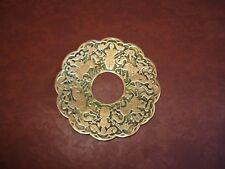 Bobèche en Bronze ancienne pour Bougeoir Lustre Chandelier