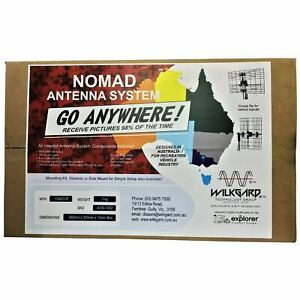NOMAD Caravan TV Antenna, RV TV Aerial -Boats Trailers-Amplified VHF UHF