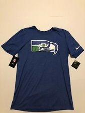 Seattle Seahawks Nike NFL Historical Logo M Distressed Style  Print NWT