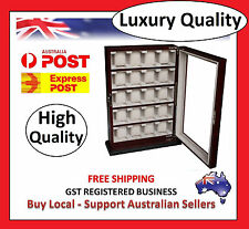 Hand Made Watch Cabinet Luxury Case Storage Display Box Jewellery Watches R