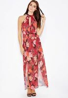 Miss Selfridge Floral Printed Maxi Dress Ladies UK Size 10 RRP £55 Box45 12 B