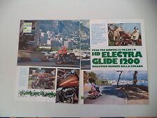 - PROVA MOTOCICLISMO 1977 MOTO HARLEY DAVIDSON ELECTRA GLIDE 1200