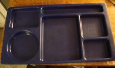 Lot of 12 Cambro 915Cw Blue Divider Trays 9 x 15