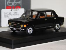 FIAT 128 NERO / BLACK QUATTRO PORTE 1969 RIO 4135/1 1:43
