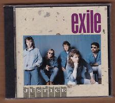 "EXILE cd ""Justice"" 1991 Arista NEW Sealed Original 1st Pressing 078221867528"