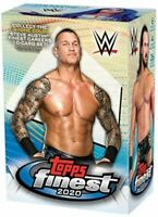 2020 WWE Topps Finest Blaster Box 2 Refractors Each Now In Stock