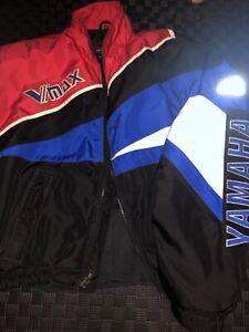 Vintage Yamaha Racing Snowmobile Jacket Men's 2XL