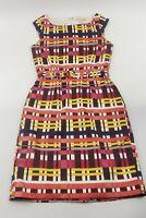 Womens Banana Republic Geometric Knee Length Dress Size 2