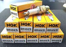 10x Spark Plug NGK BR10ES, 4832, PIAGGIO NRG MC2, MC3, Extreme, Power, PUREJET