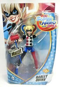 "DC Super Hero Girls - Harley Quinn-   Doll Action Figure 6"" - Sealed NEW"
