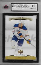 2016-17 UPPER DECK SOPHOMORE SENSATIONS Connor McDavid #SS6 KSA 10 GEM MINT