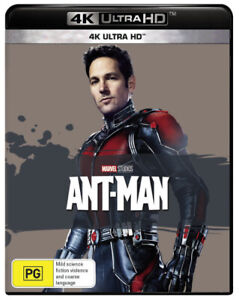 Ant-Man (4K UHD)  - BLU-RAY - NEW Region B