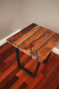Epoxy River Table Acacia Wood Handmade