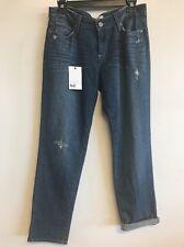 PAIGE $189 PREMIUM DENIM Jeans Womens 27 JIMMY JIMMY CROP Capri  DESIGNER