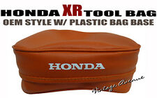 HONDA XR250L XR250R XR350R XR600R XR650L *ORANGE* TOOL BAG POUCH [197-5]