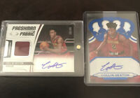 Panini Crown Royale And Certified Collin Sexton Auto SP Lot /49, /99